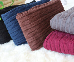 New-Women-Cotton-Over-Knee-Warm-Thigh-Knit-Tights-Stockings-High-Socks-Pantyhose