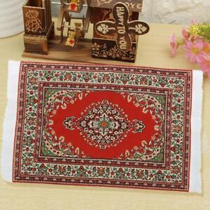 New-1-12-Miniature-Woven-Carpet-Turkish-Rug-for-Doll-House-Decoration-Accessory