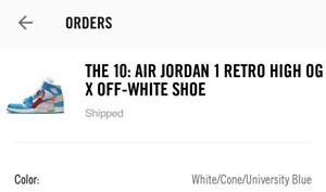 f10e78bb156e1d CONFIRMED   UNC x Off White x Nike Air Jordan 1 North Carolina