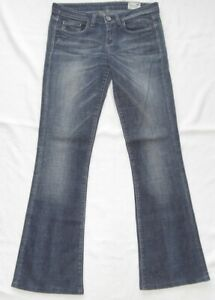 G-Star Women's Jeans W28 L32 Model 3301 Bell Cut WMN 28-31 Condition Good