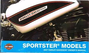 2007 harley sportster 883 1200 xl883 xl1200 owner s owners owner rh ebay com User Manual Cartoon Manual