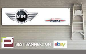 Mini John Cooper Works Banner for Workshop, Garage, Showroom etc JCW