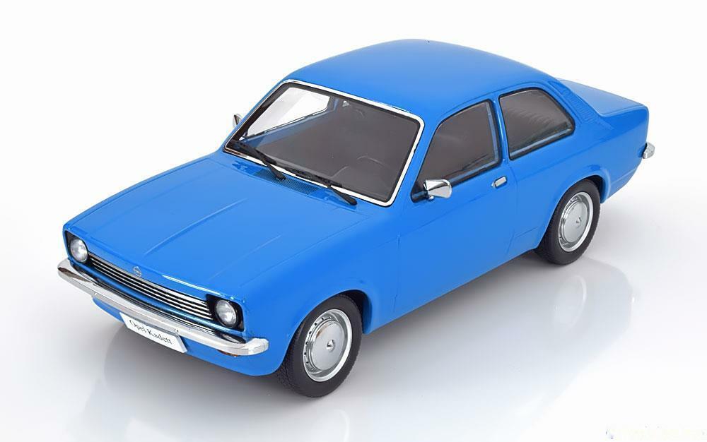 1 18 KK-Scale Opel Kadett C Saloon 1973-1977 Blau