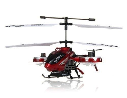 Dfd Avatar F163 Rojo Wireless 4 Canales Control Remoto Rc helicóptero Con Giroscopio F-163