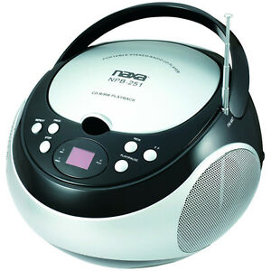 TOSHIBA TY-CRS9 PORTABLE CD BOOMBOX WITH AM//FM STEREO AND AUX INPUT COLOR BLUE