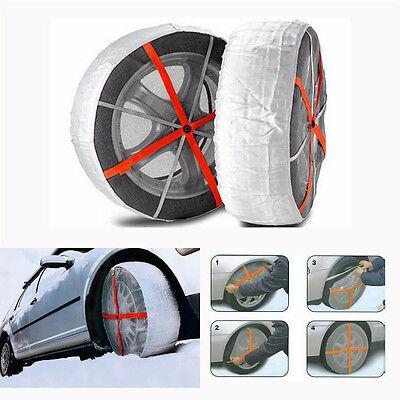 Coppia Calze da Neve Autosock Approvate Taglia 685 per pneumatici 215//70r15