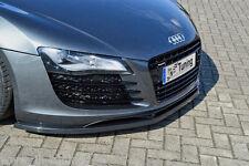 Sonderaktion Spoilerschwert Frontspoiler Cuplippe aus ABS Audi R8 Typ 42 mit ABE