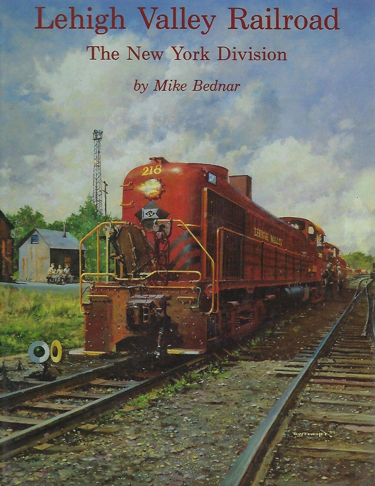 Lehigh Valley Ferrovia - la Nuova York Divisione  Nuovo Libro