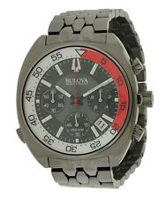 Bulova Accutron Stainless Steel Chronograph Mens Watch 98B253