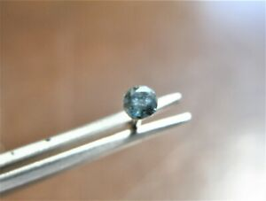 2 2mm Natural Blue Diamond Nose Bone Stud Nose Ring Nose Pin