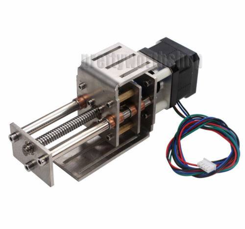 Mini CNC Z Axis Slide 60MM DIY Linear Motion Milling 3 Axis Engraving Machine