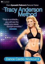 Tracy Anderson Method: Dance Cardio Workout II REGION 2 DVD (2011) MINT!