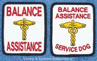 Balance Assistance Service Dog Patch 2.5x3 In Danny & Luanns Embroidery Support