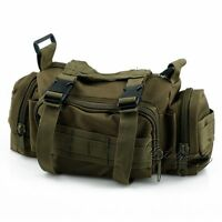 Tactical Molle Waist Single Shoulder Bag Backpacking For 3 Day Assault Pack