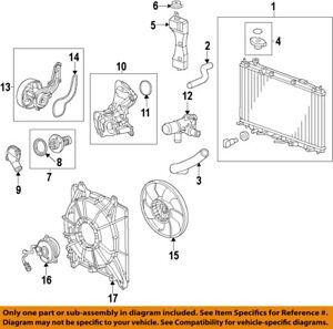 Astonishing Honda Oem 15 18 Fit Engine Water Pump 192005R0003 Ebay Wiring Digital Resources Jebrpkbiperorg