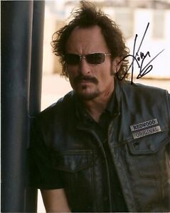 Sons-of-Anarchy-Kim-Coates-Autographed-Signed-8x10-Photo-COA-PROOF