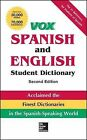 Vox Spanish and English Student Dictionary by McGraw-Hill (Hardback, 2013)