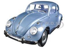 1967 VOLKSWAGEN VW BEETLE LIGHT BLUE 1:18 MODEL CAR BY ROAD SIGNATURE  92078