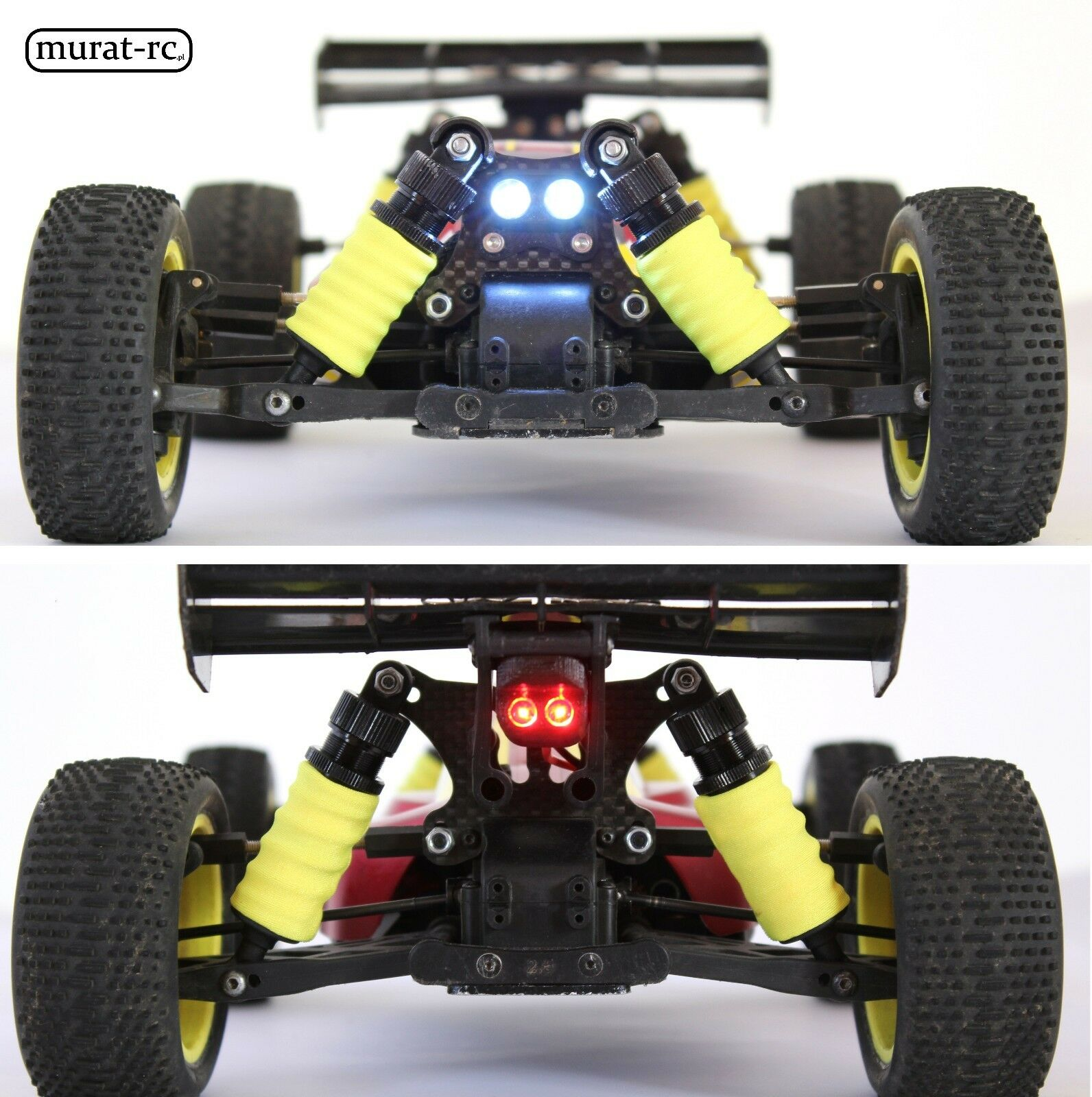 LED Lights Front Front Front And Rear For Losi 8IGHT MINI 1 14 waterproof by murat-rc 10fa35