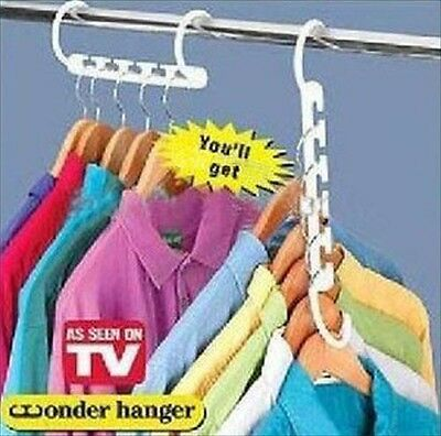 Hot Space Saver Hanger Wonder Closet Organizer Magic Hanger