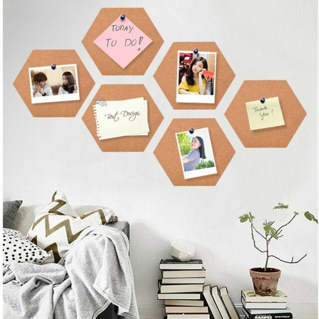 10pc Self Adhesive Cork Tiles Cork Board Corkboard Wall Bulletin Boards Coaster For Sale Online Ebay