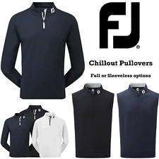 FOOTJOY GOLF JUMPER FOOTJOY GOLF PULLOVER CHILLOUT TOP NEW 2020 MENS GOLF TOP