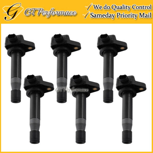 OEM Quality Ignition Coil 6PCS Pack for Acura RL TL TSX// Honda Accord V6