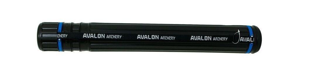 Avalon télescopique Tir à L'Arc Flèche Porte-tube Étui Cartouche Carquois Étui Porte-tube Noir & Bleu eca7e1