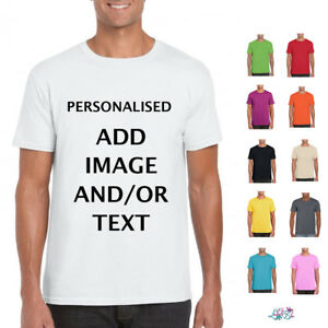 Personalised S T Shirt Customised Shirts Create Your
