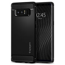 Samsung Galaxy Note 8 Case I Spigen Rugged Armor Shockproof Black TPU Cover
