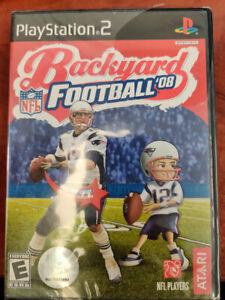 PS2 NFL Backyard Football 08 Video Game Playstation NTSC ...