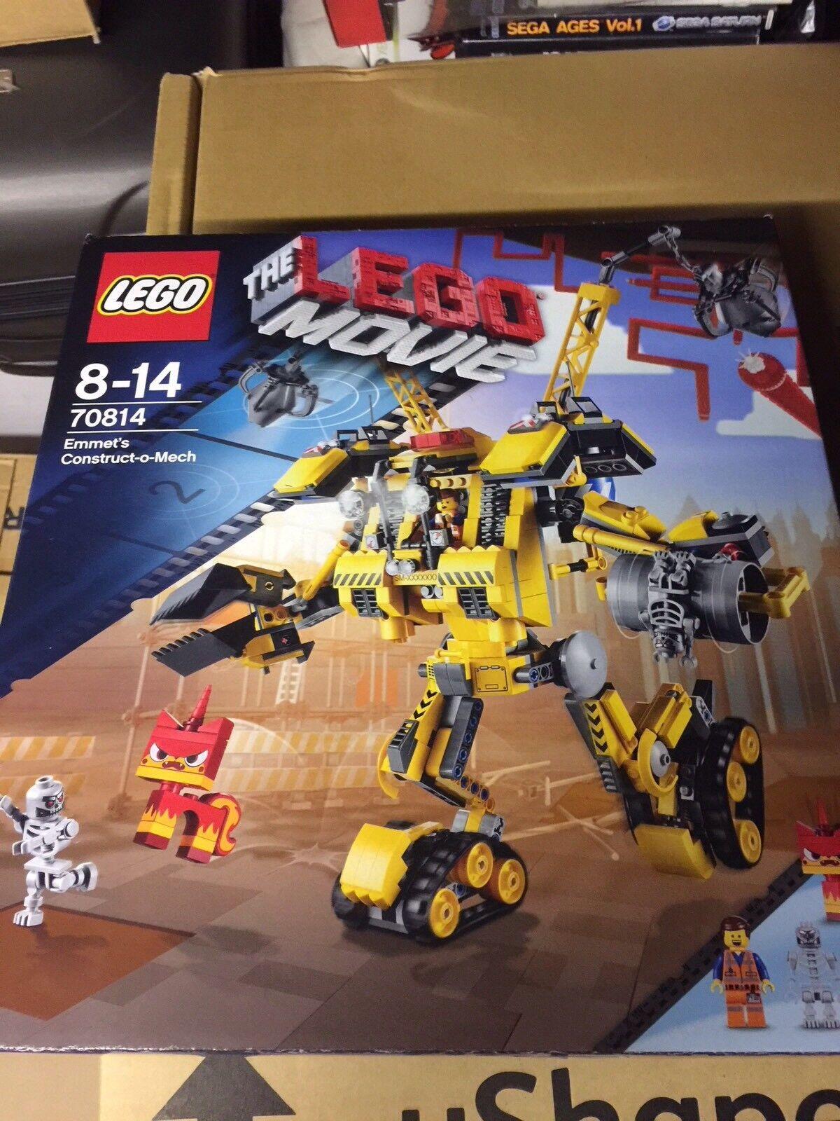 BNIB Lego 70814 Emmet Construct O Mech Rare Retirot New