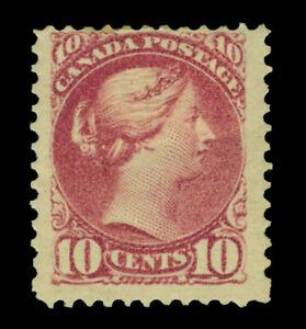 CANADA-1880-Queen-Victoria-10c-deep-lilac-rose-Scott-40b-mint-MH-F-VF