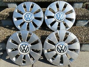 4 x ORIGINAL VW RADKAPPEN RADZIERBLENDEN 14 ZOLL SILBER - Lorsch, Deutschland - 4 x ORIGINAL VW RADKAPPEN RADZIERBLENDEN 14 ZOLL SILBER - Lorsch, Deutschland