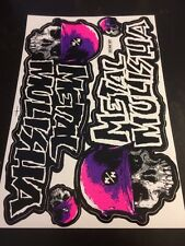 Precut Sticker Deacals RC Supercross Off Road Motocross Dirt Drift DDMM557 Pink