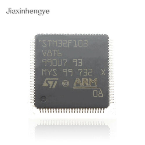 STM32F103V8T6 Microcontroller 32BIT 64KB FLASH LQFP-100 Original 2PCS//LOT