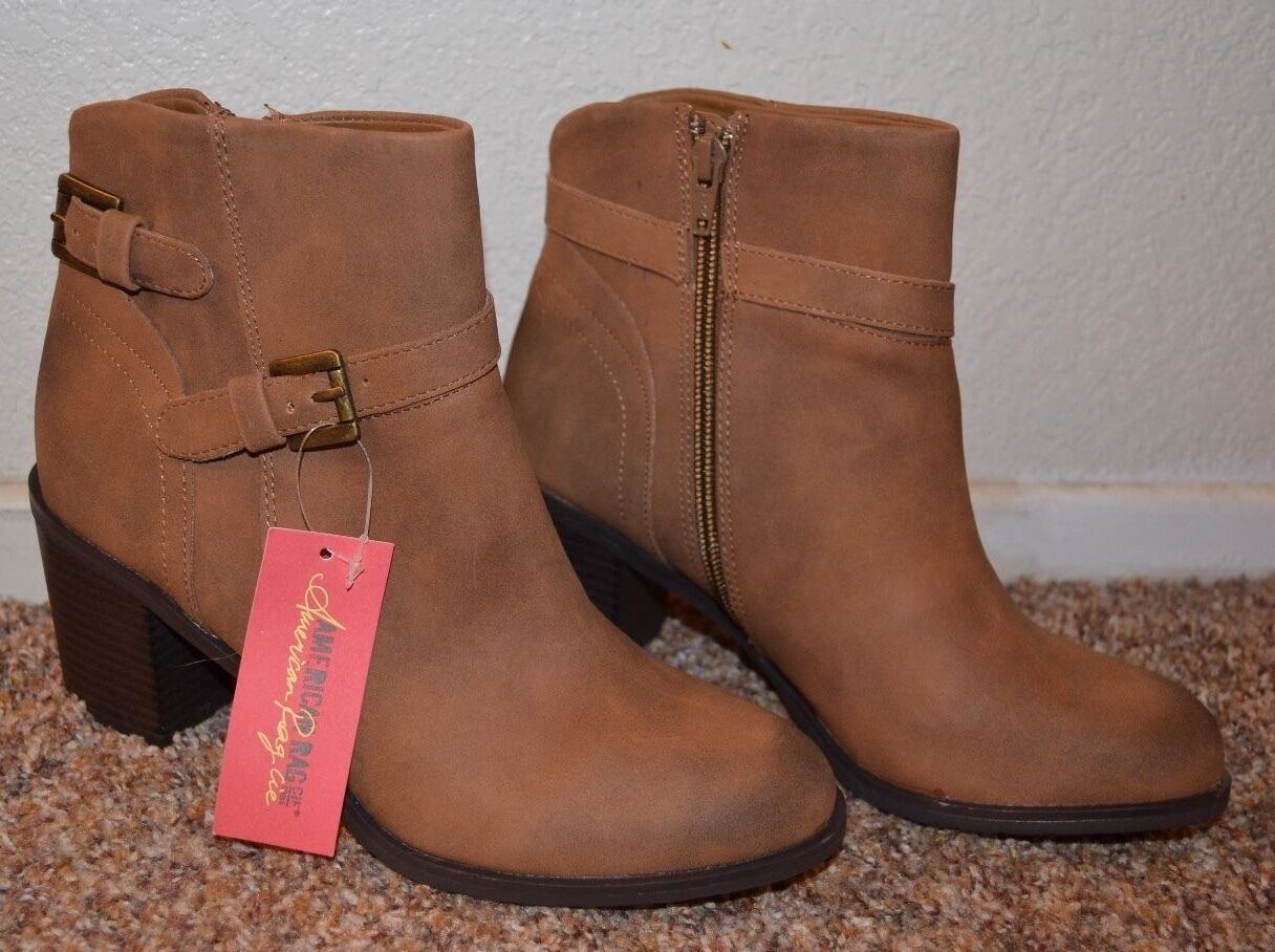 NEW  American American American Ragcie damen braun Suede Stiefel   Größe 6.5, 7, 7.5   Heel 2-1 2  8eff70
