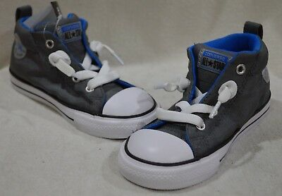 Converse Toddler Boys/' CT AS Street Mid Top Thunder//White Sneaker-6//7//8//9//10 NWB