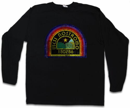 "USCSS Nostromo patch manches longues T-shirt Alien PROMETHEUS Weyland /""logo symbole"