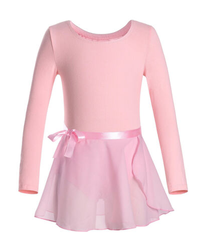 Tutu Rock Kleid Outfits Set Kinder Mädchen Gymnastik Dancewear Ballett Trikot