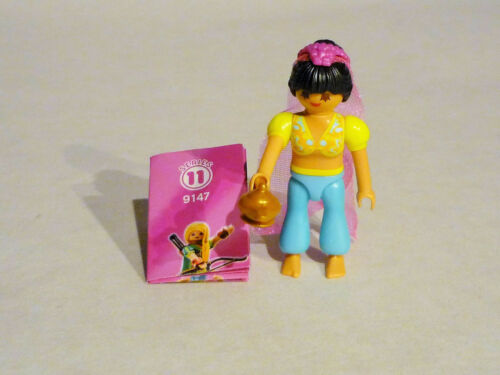 Figur 9147 NEU Playmobil Girls ** Serie 11 **  Bauchtänzerin mit Wunderlampe