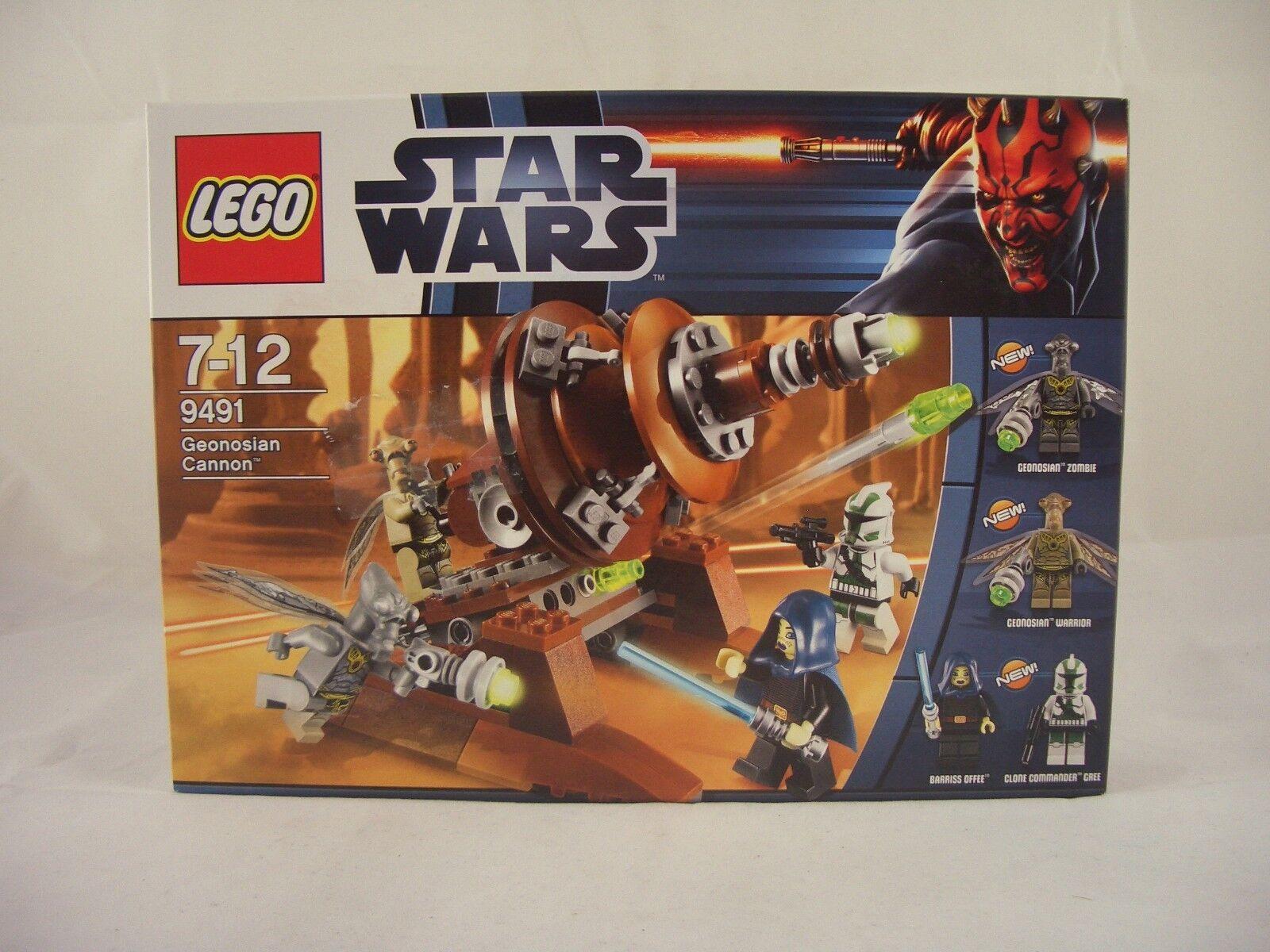 LEGO 9491 Star Wars Geonosian Cannon New Sealed