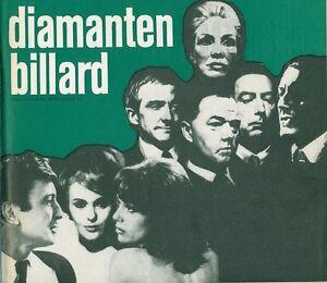 Diamanten-Billard-ORIGINAL-Presseheft-Jean-Seberg-KRIMI