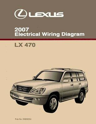 [DIAGRAM_5UK]  2007 Lexus LX 470 Wiring Diagrams Schematics Layout Factory OEM | eBay | Lexus Lx 470 Wiring Diagram |  | eBay