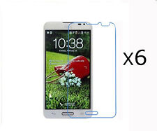 6 x New Clear LCD Front Screen Protective Protector Film Guard for LG L70 D320