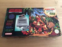 Donkey Kong Country Limited Edition Console Pack Super Nintendo SNES Rare
