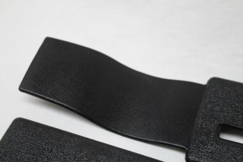82-92 Camaro//Firebird Seat Belt Headliner Upper Trim Black Pair New Reproduction
