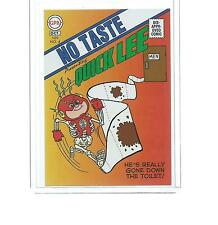 2014 TOPPS SERIES 2 GARBAGE PAIL KIDS NO TASTE QUICK LEE COMIC CARD #1 OF 4