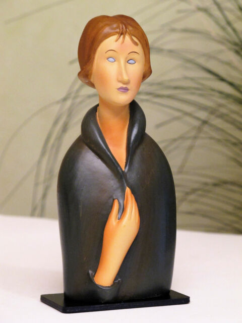 Femme aux yeux bleus AMADEO MODIGLIANI Figur Parastone Museumsedition MO09