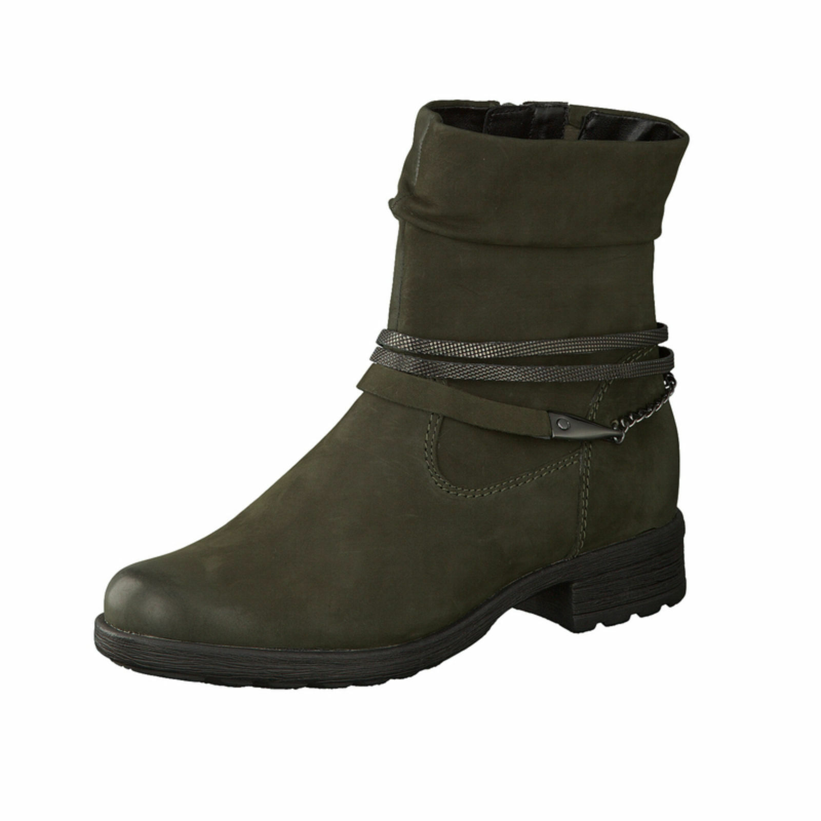 Gabor ladies Boots 32.781.33 Green Oiled Nubuk
